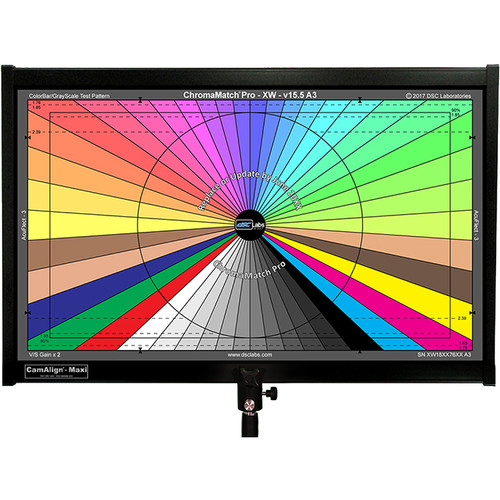 DSC Labs ChromaMatch Pro for Visual Camera Alignment and Color Correction Maxi