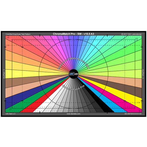 DSC Labs ChromaMatch Pro for Visual Camera Alignment and Color Correction Standard