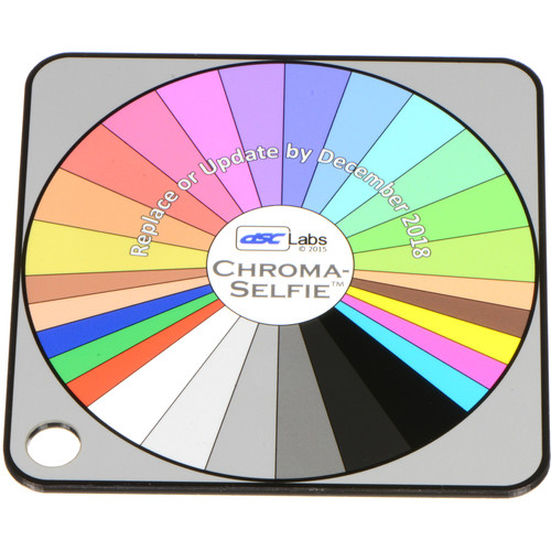 DSC Labs Chroma-Selfie Field Chart (Pocket)