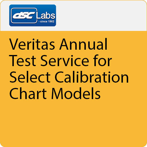 DSC Labs Veritas Annual-Test Service for Select Calibration Chart Models