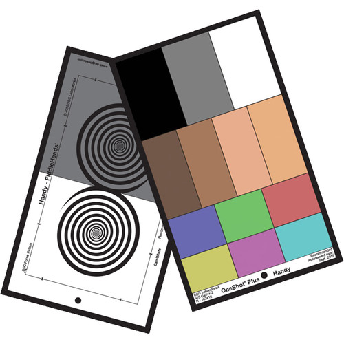 """DSC Labs Handy OneShot Plus EFP Carry-On Chart with AcuFlect 3 (10 x 6"""")"""