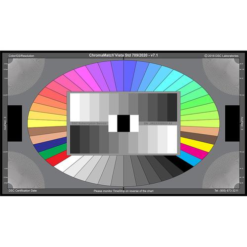 "DSC Labs ChromaMatch Vista Standard  Chart (17X10"")"