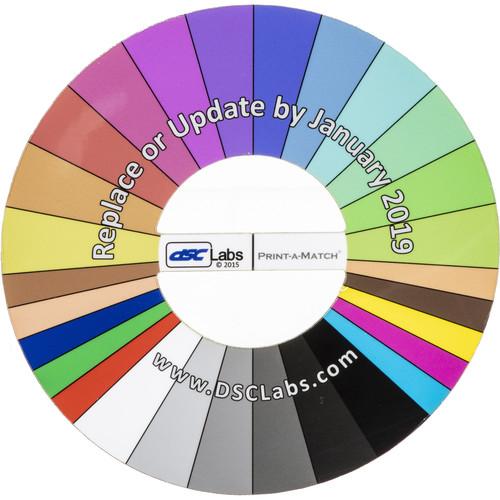 DSC Labs Print-A-Match Field Chart (Pocket)