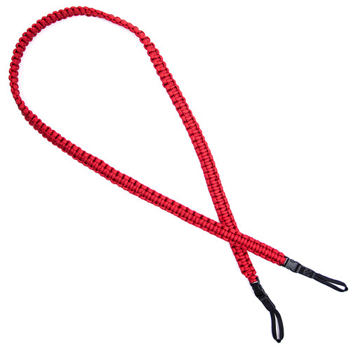 DSPTCH Braided Camera Strap (Red)