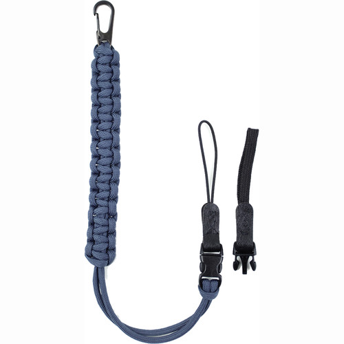 DSPTCH Camera Wrist Strap (Slate Blue with Gunmetal Stainless Steel Clip)