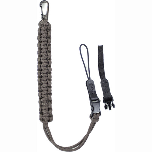 DSPTCH Camera Wrist Strap (Charcoal with Gunmetal Stainless Steel Clip)
