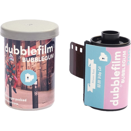 dubble film Bubblegum 200 Color Negative Film (35mm Roll Film, 24 Exposures)