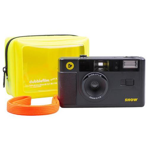 dubble film SHOW 35mm Reusable Camera (Black)