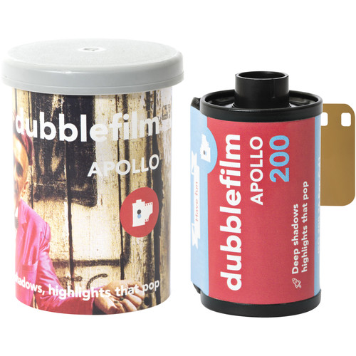 dubble film Apollo 200 Color Negative Film (35mm Roll Film, 36 Exposures)