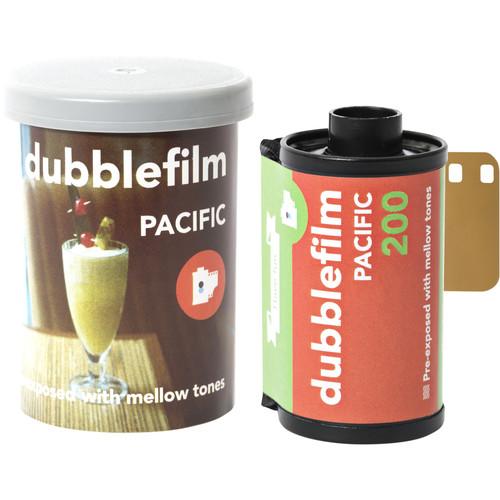 dubble film Pacific 200 Color Negative Film (35mm Roll Film, 36 Exposures)