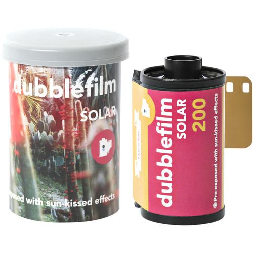 dubble film Solar 200 Color Negative Film (35mm Roll Film, 36 Exposures)