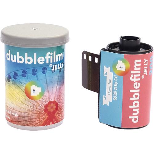 dubble film Jelly 200 Color Negative Film (35mm Roll Film, 24 Exposures)