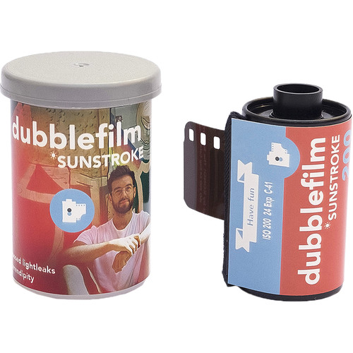 dubble film Sunstroke 200 Color Negative Film (35mm Roll Film, 24 Exposures)