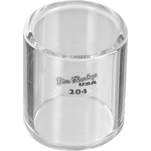 Dunlop 204 Short Knuckle Glass Bottleneck Slide (Medium)
