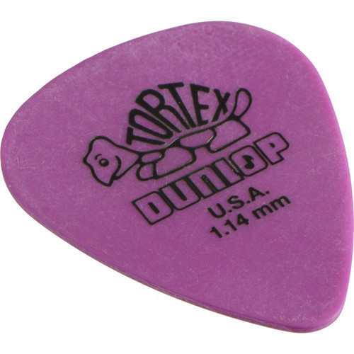 Dunlop 418P114 Tortex Standard Players-Pack Guitar Picks (12-Pack)