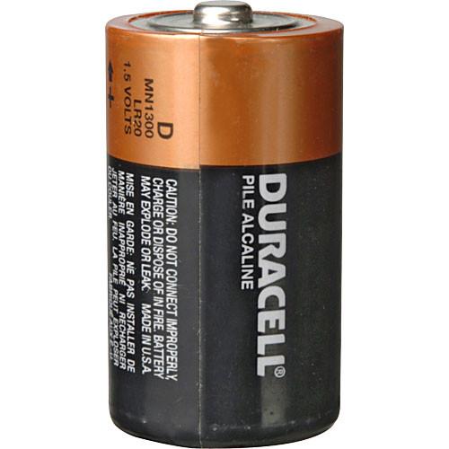 Duracell D 1.5V Alkaline Coppertop Battery 4-Pack Kit