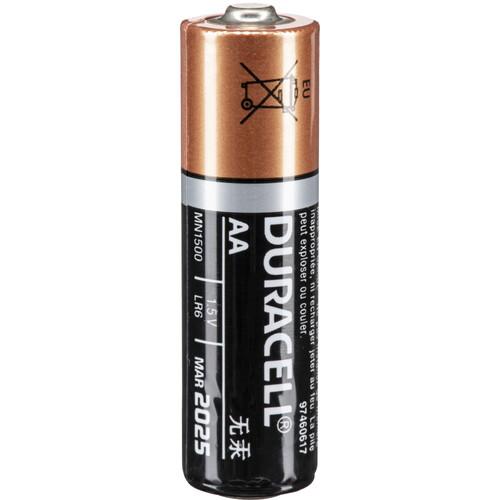 Duracell 1.5V AA Coppertop Alkaline Batteries (24-Bulk Pack)