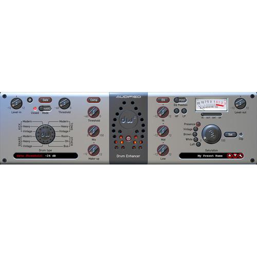 DW DRUMS Drum Enhancer - All-In-One Drum Processor Plug-In (Download)