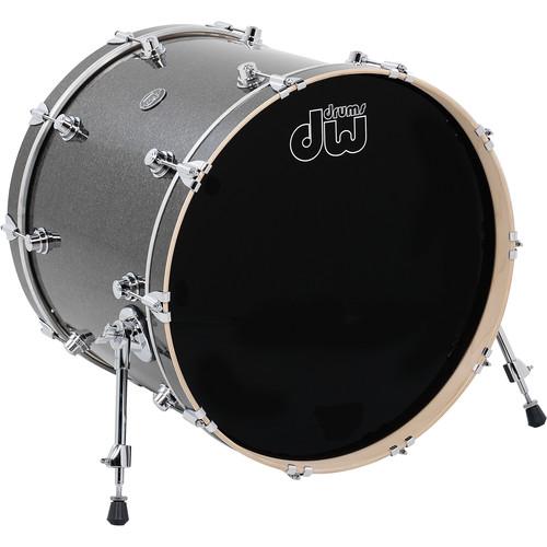 "DW DRUMS Performance Series 18 x 22"" Kick Drum (Pewter Sparkle)"