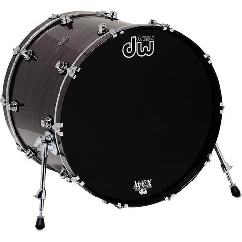 "DW DRUMS Performance Series 18 x 22"" Kick Drum (Ebony Stain)"