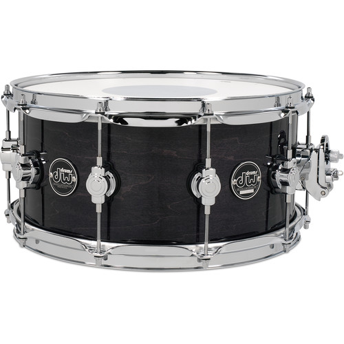 "DW DRUMS Performance Series 6.5 x 14"" Snare Drum (Ebony Stain)"