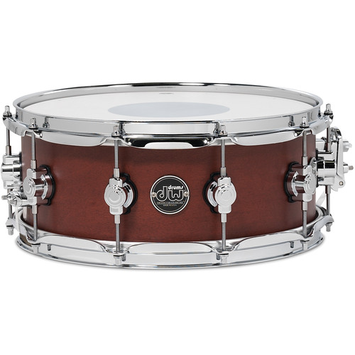 "DW DRUMS Performance Series 5.5 x 14"" Snare Drum (Tobacco Satin Oil)"