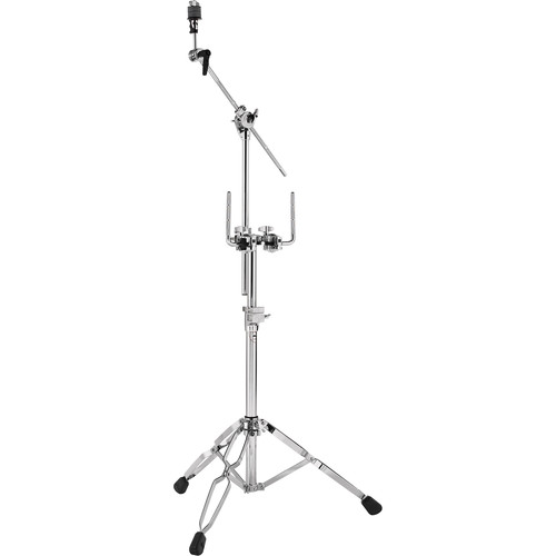 DW DRUMS 9000 Series Double-Tom Stand with Cymbal Boom Arm