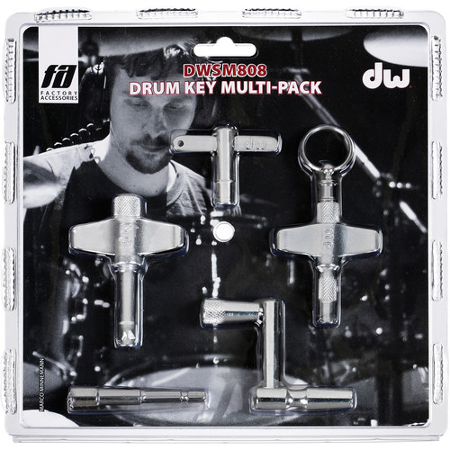 DW DRUMS DWSM808 5 Key Set (800, 801, 807, Heavy Duty, & Speed)