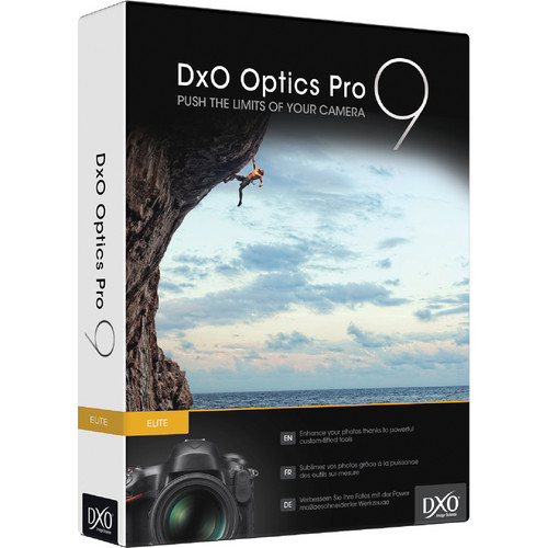 DxO Optics Pro 9 Elite Edition