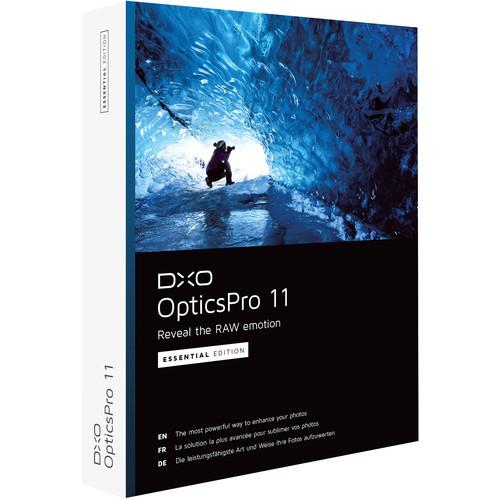 DxO OpticsPro 11 Essential Edition (DVD)