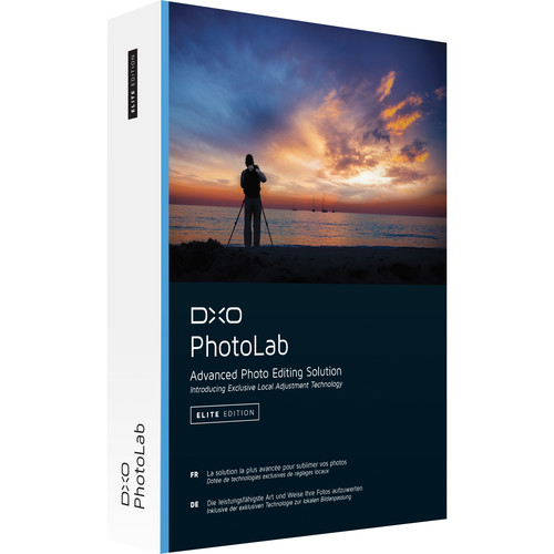 DxO PhotoLab Elite Edition (DVD)
