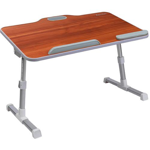Dyconn Kavalan Large Size Portable Laptop Table (Cherry)