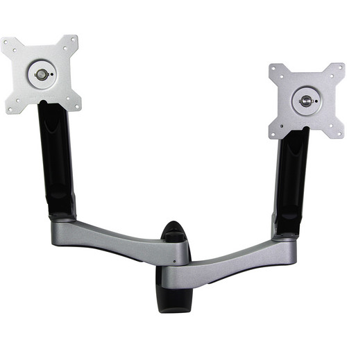 Dyconn Bridge Helix Aluminum Dual-Monitor Wall Mount