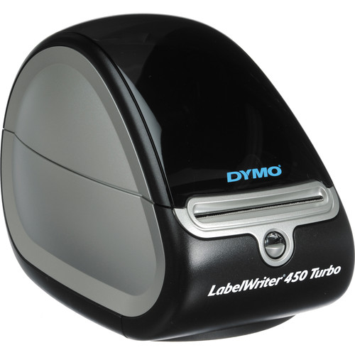 dymo labelwriter 450 turbo usb label printer 1752265 b h photo. Black Bedroom Furniture Sets. Home Design Ideas