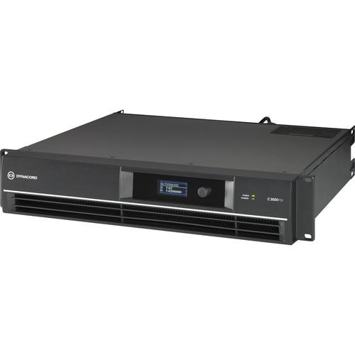 Dynacord C3600FDi C-Series FIR-Drive Power Amplifier 3600W