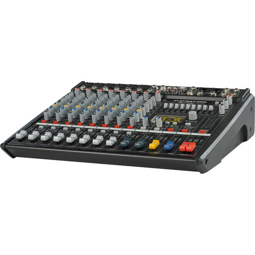 Dynacord 4 Mic/Line+2 Mic/Stereo Line Chs+2 Stereo Line Chs,2X Aux,Dual 24 Bit Stereo FX,USB-Aud.Interface