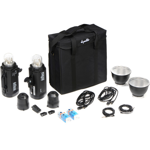 Dynalite A6-600 Monolight 2-Light Kit with Case