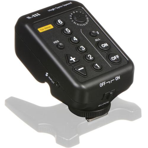 Dynalite BRT-626N HSS Transmitter for Nikon Cameras