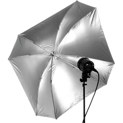 """Dynalite Quad Square Umbrella - Soft Silver (48"""")"""