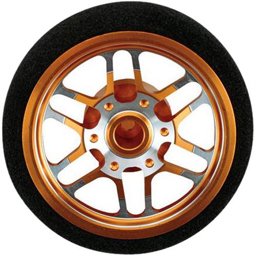Dynamite BBS-Style Custom Steering Wheel for DX3S/DX4S/DX4C Radio Systems (Orange)
