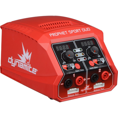 Dynamite Prophet Sport Duo Dual 50W AC Battery Charger for RC Batteries
