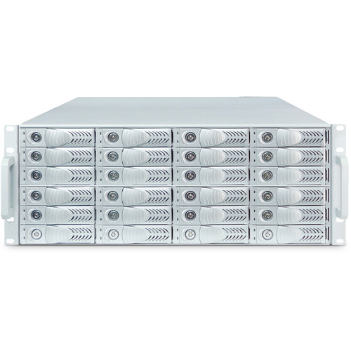 Dynapower USA Netstor NA381TB3 4U Rackmount 24-Bay Thunderbolt 3 Storage  3-Slot PCIE Expansion Enclosure
