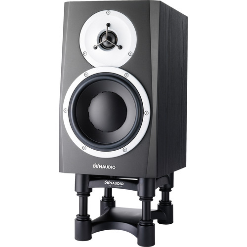 "Dynaudio Acoustics BM5 MKIII - 7"" Two-Way Active Studio Monitor with IsoAcoustics Speaker Stand (Single)"