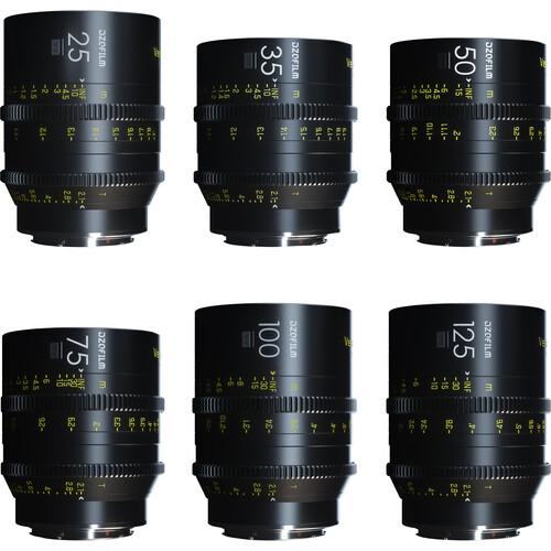 DZOFilm VESPID 6-Lens Kit A (EF Mount)
