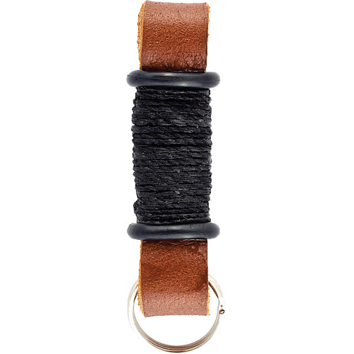E3Supply Leather Motorcycle Keychain (Brown / Black)