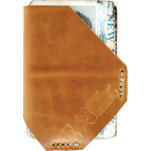 E3Supply Men's Holster-Style Slim Wallet (Horween Natural)