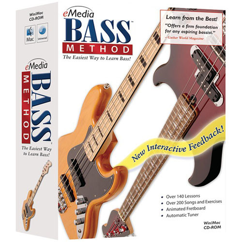 eMedia Music CD-Rom: Bass Method (Version 2) by John Arbo