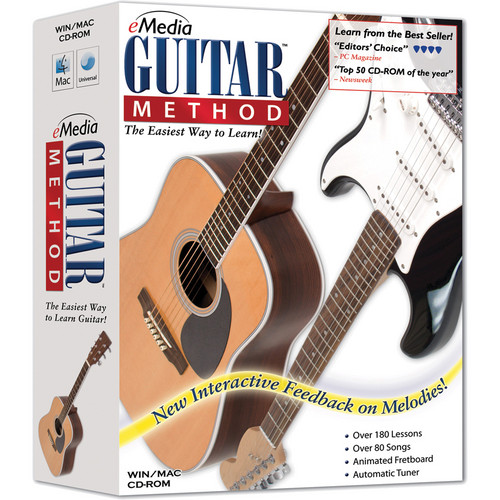 eMedia Music CD-Rom: Guitar Method (Version 5) with Kevin Garry