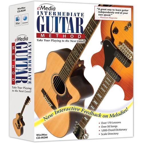 eMedia Music CD-ROM: Intermediate Guitar Method (Version 3), By Kevin Garry