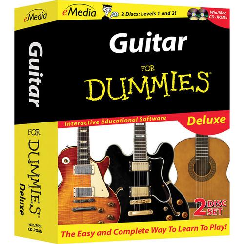 eMedia Music CD-Rom: Guitar For Dummies Deluxe (2 CD-Roms)